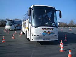 Fahrsicherheitstraining mit dem Omnibus
